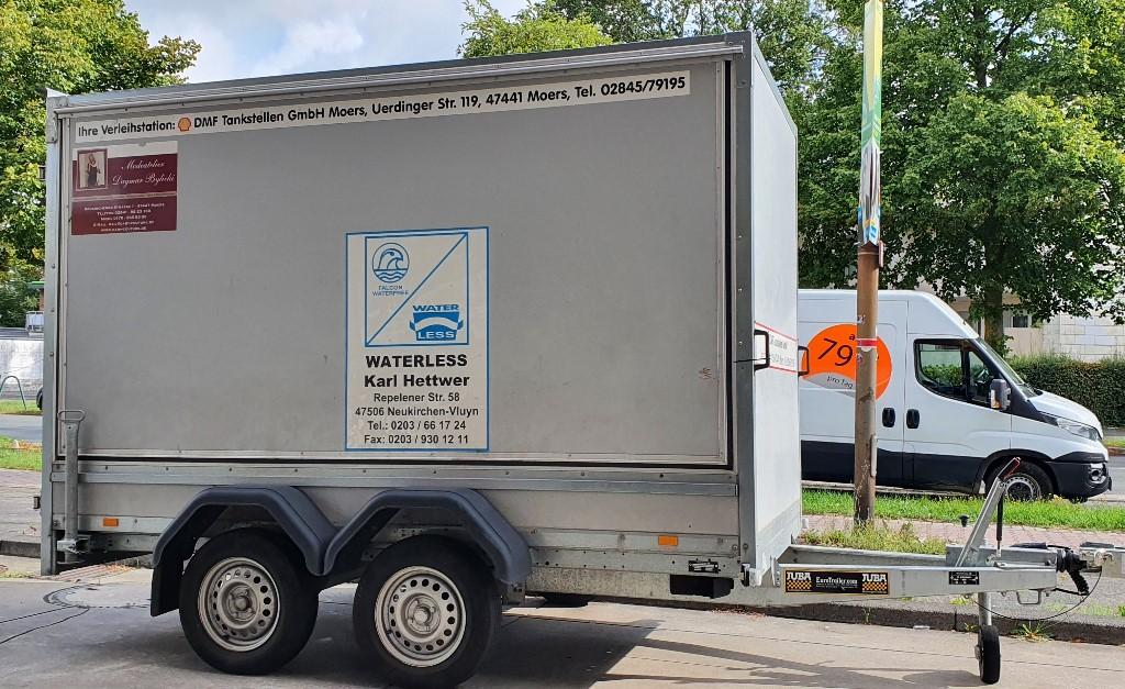 L-Anhänger Koffer - 3,0 m - 2,0 t mieten
