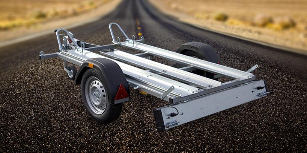 S-Anhänger - Motorrad Transporter