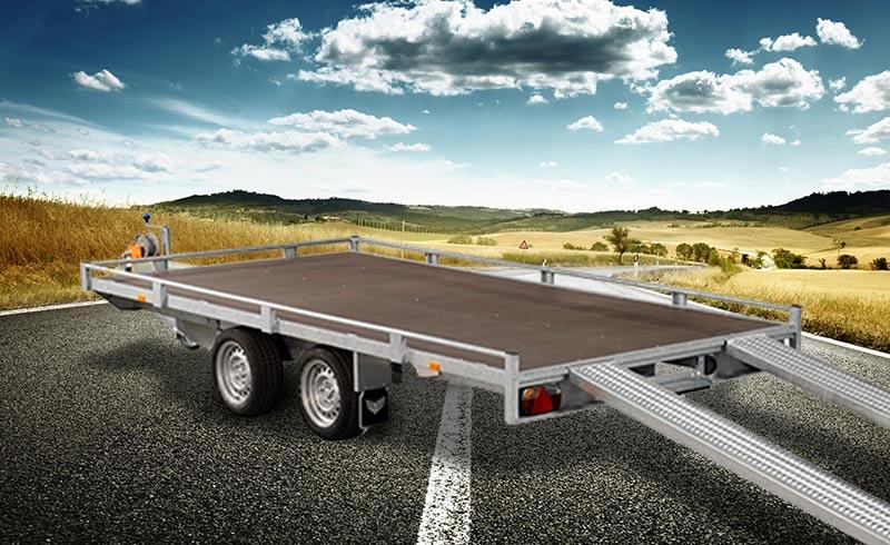 XL Autotransportanhänger | 4m | 2,7t